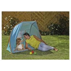 Tesco UPF 50+ Sun Tent was £20 now £9 C+C + Receive Triple Clubcard Points @ Tesco Direct