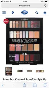 Smashbox Create & Transform Eye, Lip & Face Palette Was £35 Now £24.50 Worth £70 at Boots Online