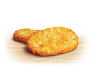 KFC is selling hashbrowns for 25p each! (Throughout the day, not just morning)!