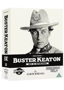 Buster Keaton: 3 Films Limited Edition Blu-ray Boxed Set £24.99 @ base