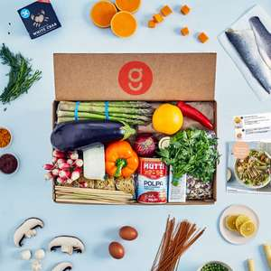 £20 off your first box and £10 off your second box (valid on boxes of 3 meals or more) with Gousto