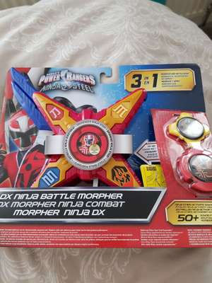 Power rangers ninja steel battle morpher £8.70 instore @ Asda -  Wakefield