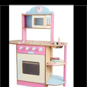 Kids wooden Play Kitchen £9.99 @ Aldi - Luton
