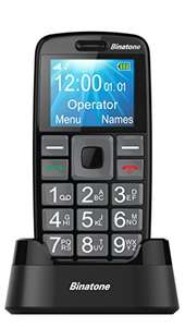 Binatone M312 Big Button GSM Mobile Phone - Black Amazon £15 prime / £18.99 non prime