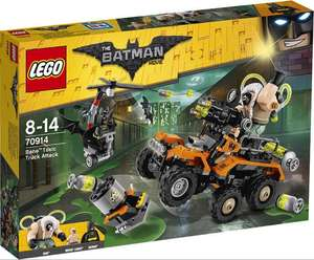 LEGO The Batman Movie 70914 Bane Toxic Truck Attack £35 amazon and Debenhams