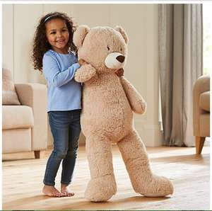 Kid Connection Beige Bear - 1Metre £10 @ Asda direct