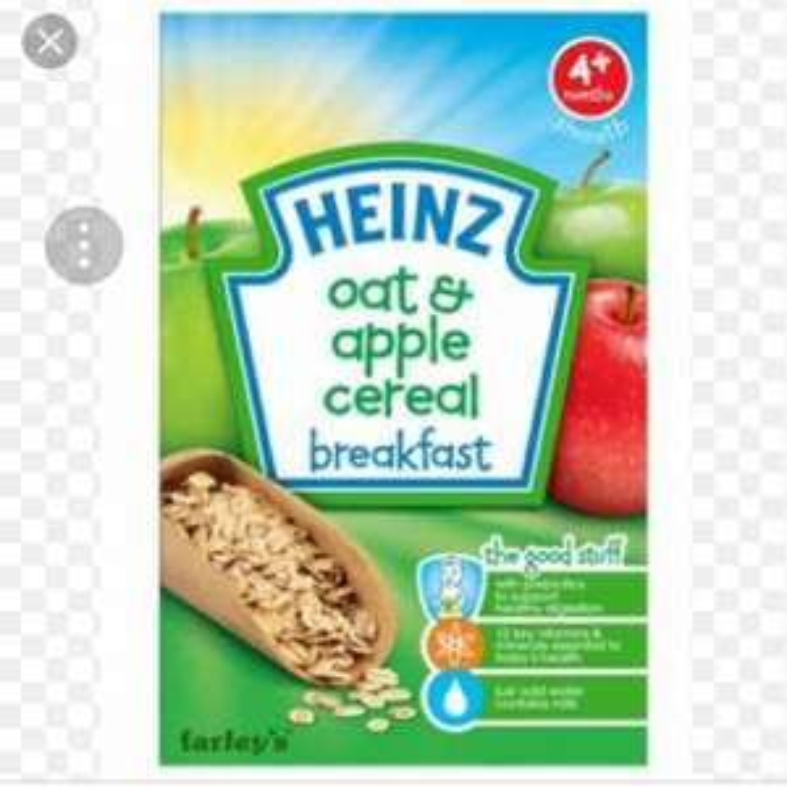 Heinz baby porridge/cereal 49p Poundstretcher