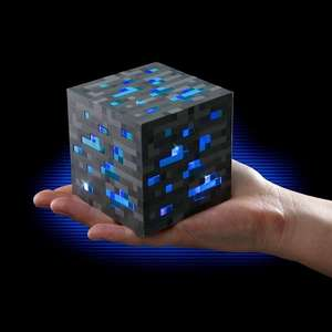 Minecraft Light-Up Diamond Ore £5 from GAME Online Free Delivery