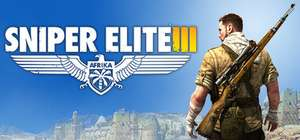 PC :- Sniper Elite 3 80 % discount ** Direct with Steam *** £4.59 Or with Season Pass £8.74