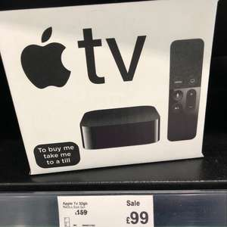 Apple TV 32gb - £99 instore @ Asda