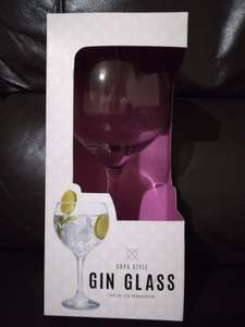 Copa style gin glass £1.50 @ Poundworld