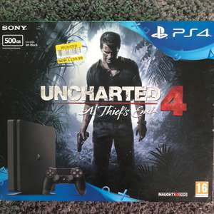 Playstation 4 500gb with uncharted 4 £159.99 @ Tesco instore