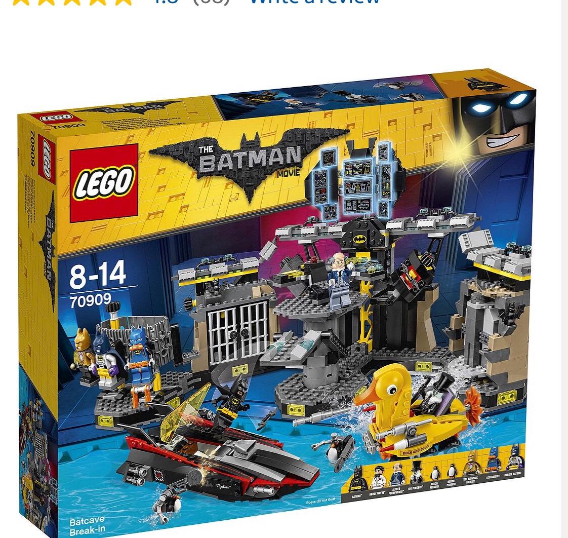 LEGO Batman Movie Batcave Break-in 7090 £85 @ Tesco