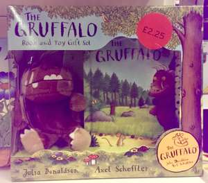 The Gruffalo Book and Toy Gift Set - £2.25 instore @ Sainsbury's - Low Hall (Chingford)