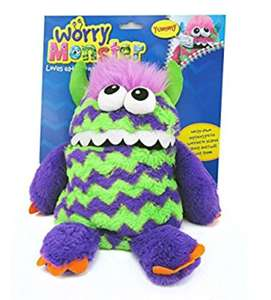 Worry Monster kids soft toy various colours  £3.75 instore @ Poundworld