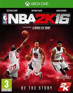 NBA 2K16 XBOX One £2.50 at Game.co.uk
