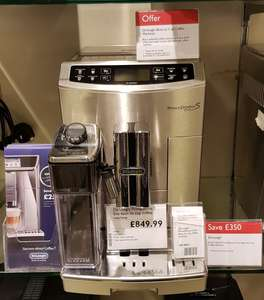 De'longhi PrimaDonna S Evo Bean to cup coffee machine £699.99 @ John Lewis