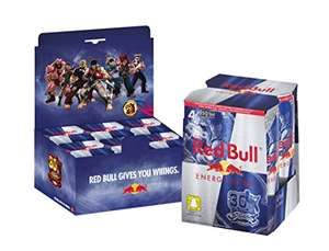 24 cans of 250 ML Red bull ( 6 packs of 4 cans ) £13.05 Prime £17.04 Non Prime @ Amazon