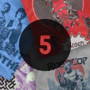 5 Pack mystery T-shirts + Captain America: Prisoner of War – Paperback £14.99 @ Zavvi
