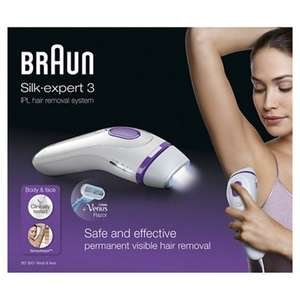 Braun - Permanent visible hair removal Ipl bd3001 free delivery £135 @ Debenhams