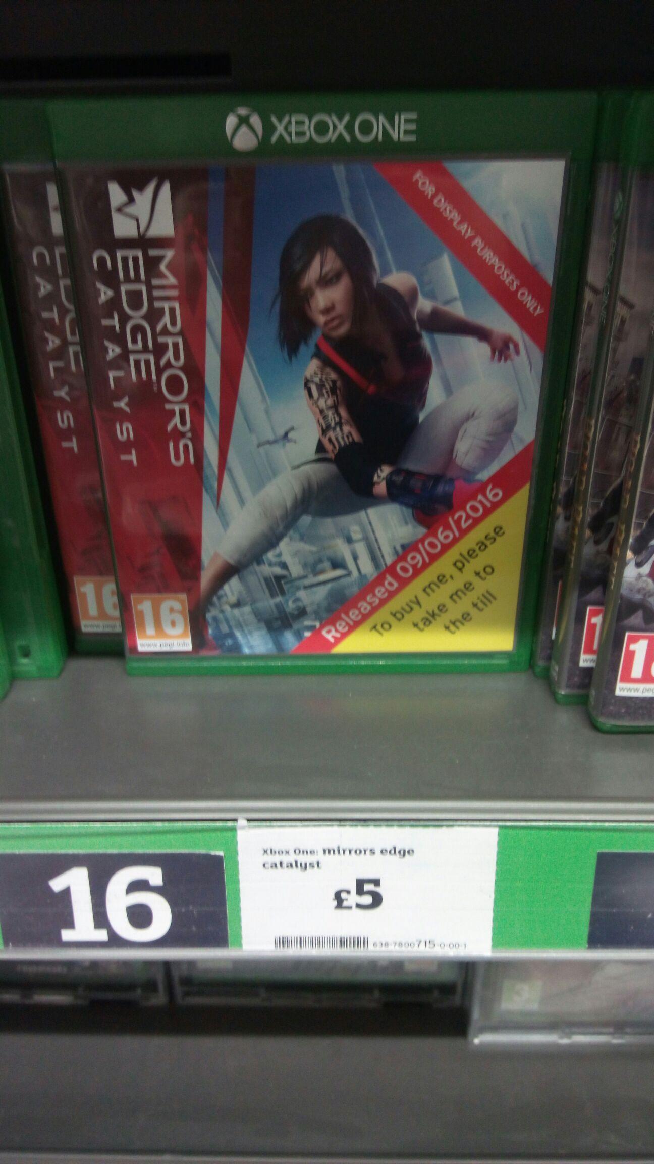 mirror edge catalyst on xboxone £5 @ Sainsburys