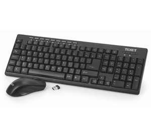 Texet Wireless Keyboard and Mouse £5.93 (Free C&C) @ Robert Dyas [£9.88 delivered]