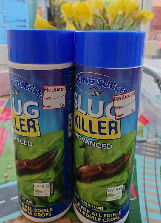 Growing success slug killer 10p instore @ Wilko Melton