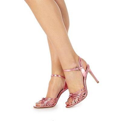 Faith-  stiletto shoes pink or blue metallic sizes 3-8, £14.70 was £49 @ debenhams