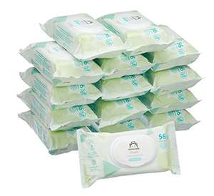 Mama Bear Fresh Lightly Fragranced Baby Wipes – Pack of 15 (Total 840 wipes) £7.65 @ amazon (Prime Exclusive)
