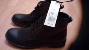 Men's boots £14 reduced from £30 Tesco cross point Coventry