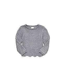 Chenille scallop hem jumper age 5-6 now £4 @ tesco direct