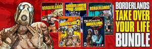 PC : Borderland Deal : Borderlands 1 & DLC + Borderlands 2 + Borderlands pre-sequal + Tales from the Borderlands * direct with Steam *