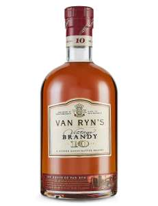 Van Ryn 10 year old Vintage Brandy now £15 + £3.50 Del @ M&S (free del wys £50)