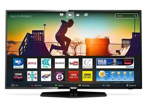 Philips 50PUS6162/05 50-Inch 4K Ultra HD Smart TV with HDR Plus, Freeview Play - Black (2017 Model) [Energy Class A+] for £389 delivered @ Amazon