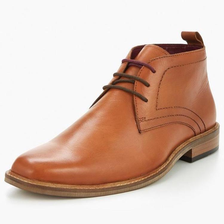 Men's Tan boots were £48 now £26.50 (size 9 & 12) C+C @ Very