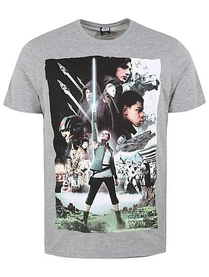 Star Wars the last Jedi men's XL T-shirt £2 C+C @ asda george