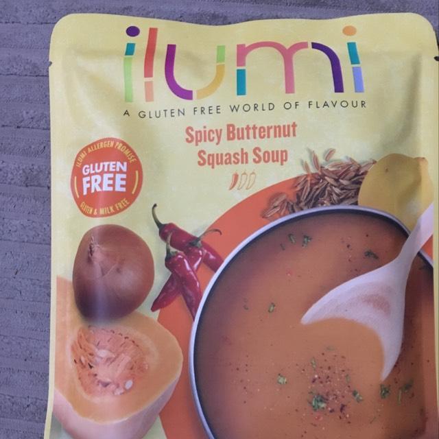 Ilumi gluten free soups 2 for £1 in Fulton's