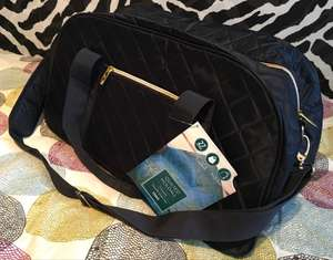 Tesco quilted/padded travel holdall £3.50 instore Tesco, Cardiff Road, Newport store.
