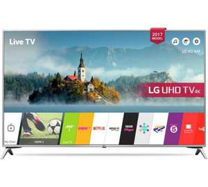 LG 43UJ651V 43 Inch Smart Ultra HD TV with HDR - £399 @ Argos