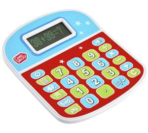 Be the envy of everyone at the office. Chad Valley PlaySmart Calculator. Was £10.99 now £4.99 @ Argos
