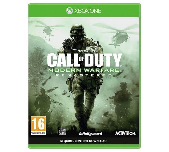 Modern warfare remastered xbox1/ps4 - £14.99 @ Argos