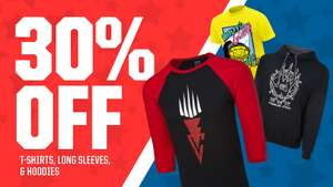 WWE Euro Shop 30% off Tees, Long Sleeves, & Hoodie Sale +£4.25 Delivery - XMAS JUMPERS UNDER £6
