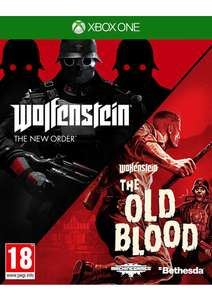 Wolfenstein Double Pack: The New Order/The Old Blood (pre-order) @ Simply Games - £19.85