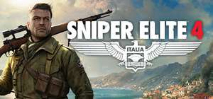 PC :- Sniper elite 4 £13.59 Deluxe edition £19.49 *** Direct with Steam ***