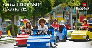 Legoland Windsor 2 tickets for £12 plus £1.50 booking fee. Token collect with The Times