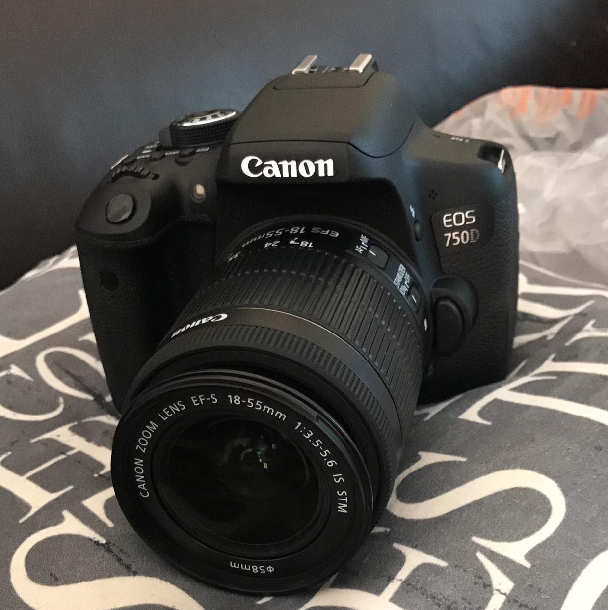 £50 off !!!! Canon 750D DSLR Camera - £549.99 @ Argos