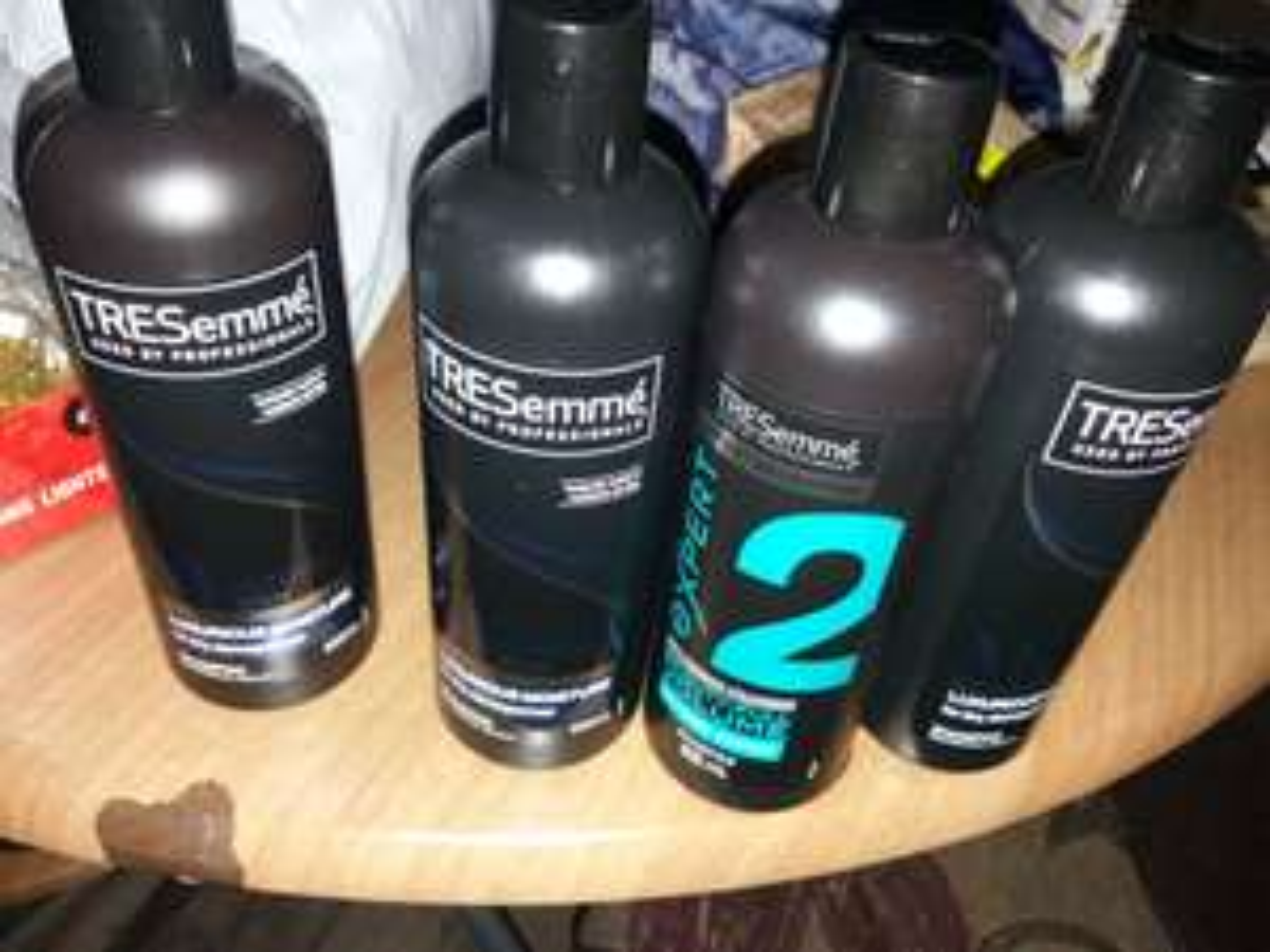 Tresemme shampoo  500ml 75p asda huddersfield