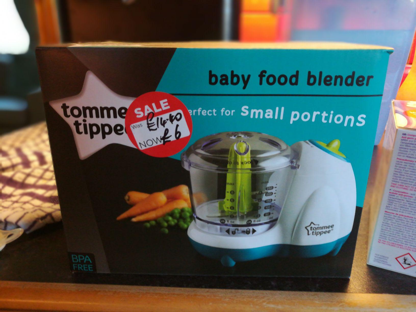 Tommee Tippee Baby Food Blender £6 instore @ Asda