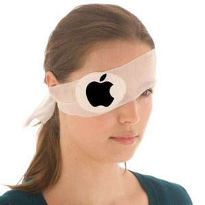 Apple Eye Pad Sterile Bandage Round Eye Patch Dressing Pad First Aid Kit HSE Refill Wound £1.48 @ Elite Sports Gear Ebay