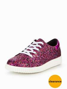 Gene Glitter Trainer for Older Kids (was £28) Now £11.20 C&C at Very
